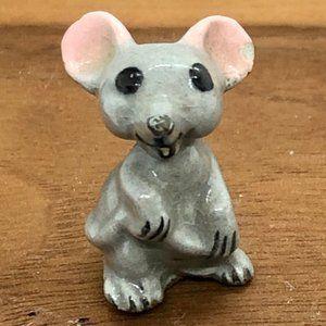Vintage Small Mouse Figurine
